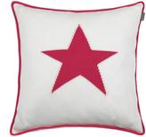 Gant Starstruck Knit Cushion - 50x50cm - Bright Magenta