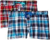 Bottoms Out Women's Flannel Boxer Shorts