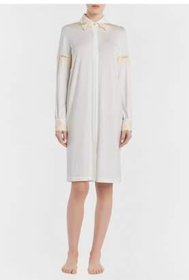 La Perla Brenda White Jersey Short Nightgown