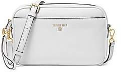 MICHAEL Michael Kors Women's Large Jet Set Charm Leather Camera Bag