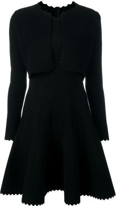 Alaia Pre Owned bolero flared dress