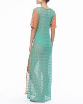 Missoni Long Patterned Coverup Dress