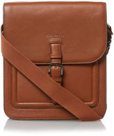 Ted Baker Raised Edge Leather Flight Bag