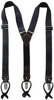 Tommy Hilfiger Men's 30mm Printed Tonal Plaid Suspender