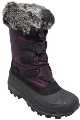 Winter Tecs Women's Nylon Winter Boots Purple