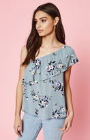 KENDALL + KYLIE Kendall & Kylie Ruffle One Shoulder Top