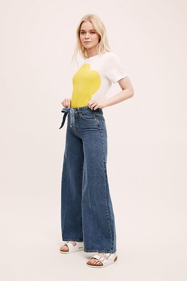 Selected Laura High-Rise Wide-Leg Jeans