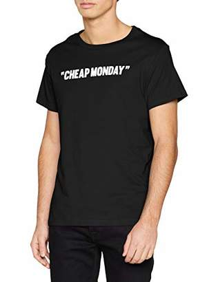 Cheap Monday Men's Standard tee Review T-Shirt, Grey, Small (Size:S)