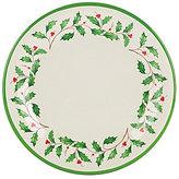Lenox Holiday Melamine Dinner Plates, Set of 4