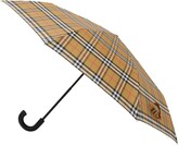 Burberry Trafalgar Check Folding Umbrella