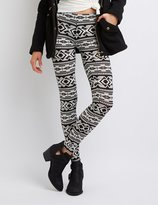 Charlotte Russe Tribal Print Leggings