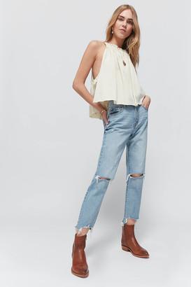 Daze Denim Straight Up High-Waisted Jean Sorry