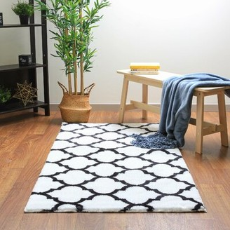 Geometric Rug Black White Shop The World S Largest Collection Of Fashion Shopstyle