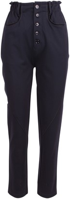 High stance Rayon Trousers