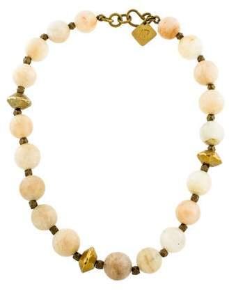 Ashley Pittman Sunstone Bead Necklace
