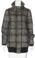 Vivienne Tam Wool-Blend Short Coat