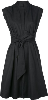 Natori Taffeta Shirt Dress