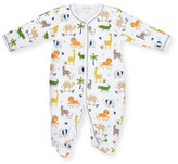 Kissy Kissy Jungle Jaunt Pima Footie Pajamas, Pink, Size Newborn-9 Months