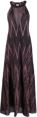M Missoni Metallic Maxi Dress