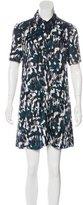 Thakoon Abstract Print Mini Dress