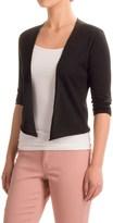 Nomadic Traders Portofino Cropped Cardigan Sweater - 3/4 Sleeve (For Women)