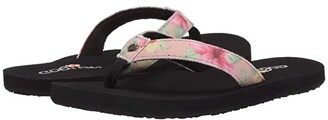 Cobian Leilani (Toddler/Little Kid/Big Kid) (Hibiscus) Women's Shoes