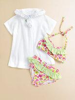 Florence Eiseman Toddler's & Little Girl's Ruffled Two-Piece Bikini