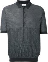 Lemaire patterned polo shirt - men - Cotton/Polyurethane/Cashmere - M