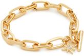 Rebecca Minkoff Signature Link Star Charm Bracelet