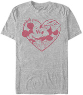 Fifth Sun Tee Shirts ATH - Athletic Heather Mickey & Minnie 'Perfect Pair' Tee - Adult