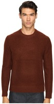 Vince Boiled Cashmere Crew Neck Sweater Men's Sweater