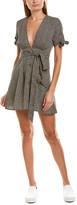 City Sleek Tie-Waist Mini Dress