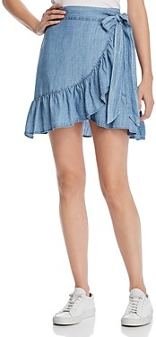 Rails Etienne Chambray Wrap Skirt