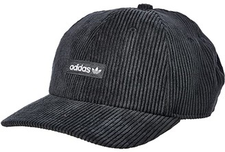 adidas Originals Relaxed Wide Wale Strapback (Black) Caps