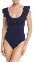 Karla Colletto Temptation Round-Neck One-Piece Swimsuit
