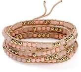 Rebecca Minkoff Matte Ball Wrap Bracelet