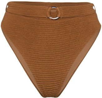 Juillet Ashley belted bikini bottoms