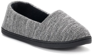 Isotoner Women's Andrea Space-Knit A-Line Slippers