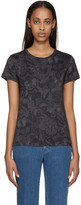 Valentino Black & Grey Butterfly T-Shirt