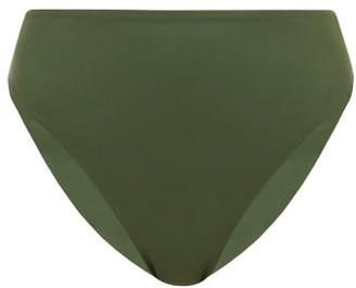 JADE SWIM Incline Bikini Briefs - Womens - Dark Green