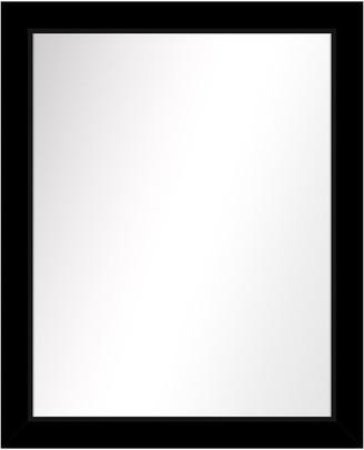 PTM Images Over the sink Vanity Mirror, Black, 25.5x31.5