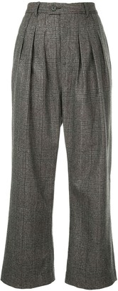 Strateas Carlucci Flared Cropped Trousers