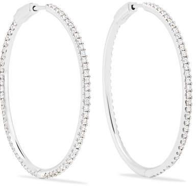 Anita Ko Fonda 18-karat White Gold Diamond Earrings