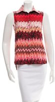 Timo Weiland Sleeveless Printed Top