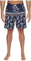 Tommy Bahama Baja Seleron Stripe Swim Trunks Men's Swimwear