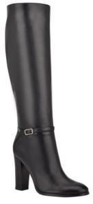 Nine West Women's Kimy Heeled Dress Boots Women's Shoes