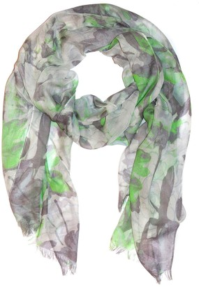 Amicale Mirror Floral Print Scarf