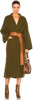Loewe Leather Belt Coat