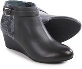 Vionic Technology Shasta Ankle Boots - Leather, Wedge Heel (For Women)
