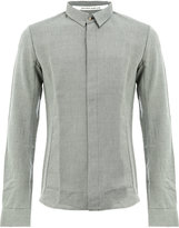 Individual Sentiments concealed buttons shirt